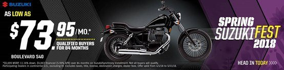 Suzuki - Spring Suzuki Fest for Cruiser and Touring